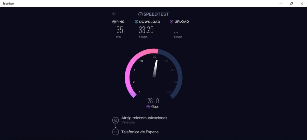 speedtest gawai mikro