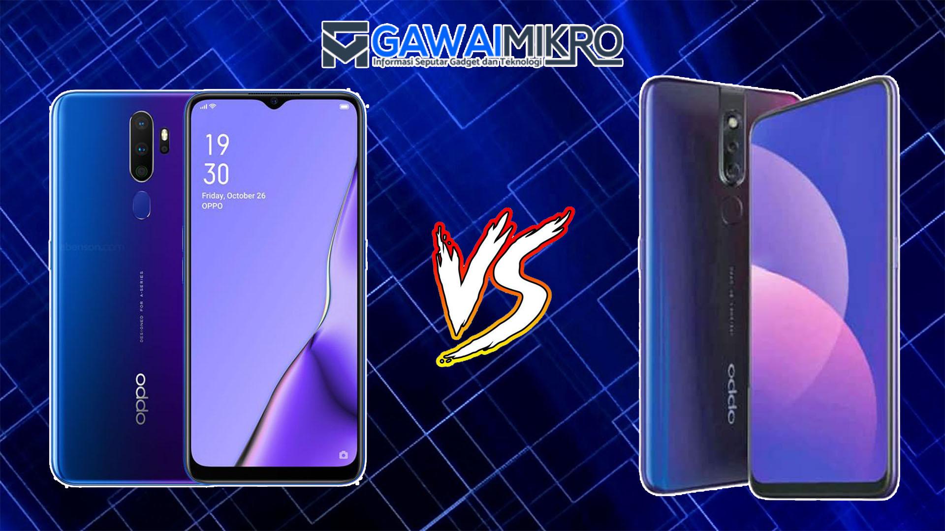 Oppo F11 Pro vs Oppo A9 2020
