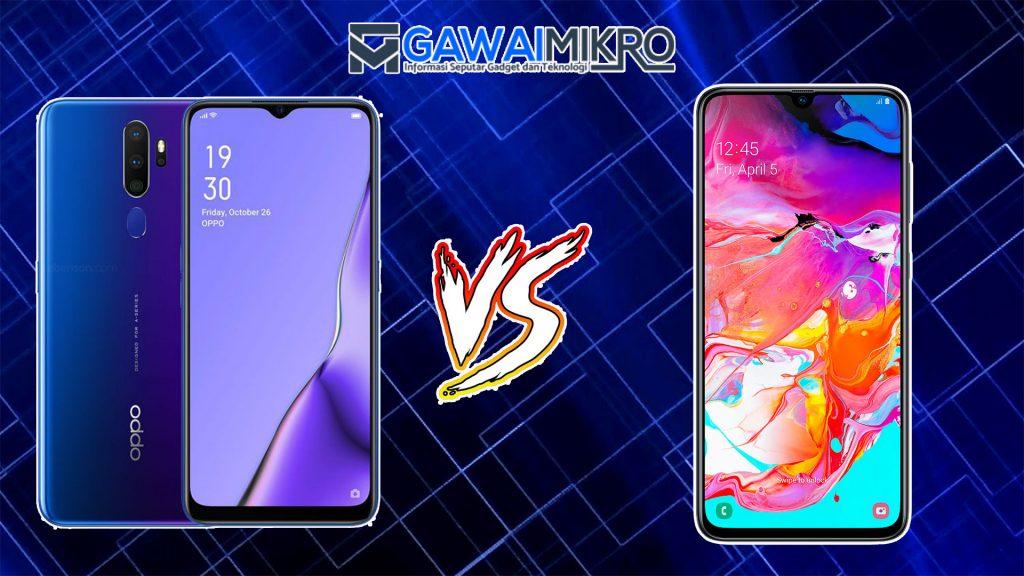 Oppo A9 2020 vs Samsung Galaxy A70