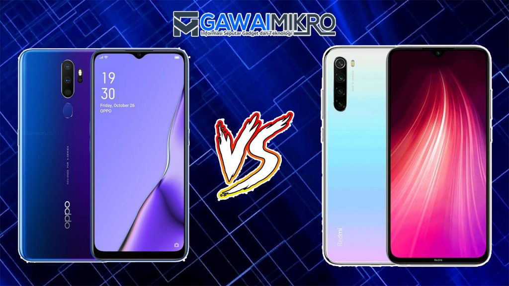 Oppo A9 2020 vs Xiaomi Redmi Note 8