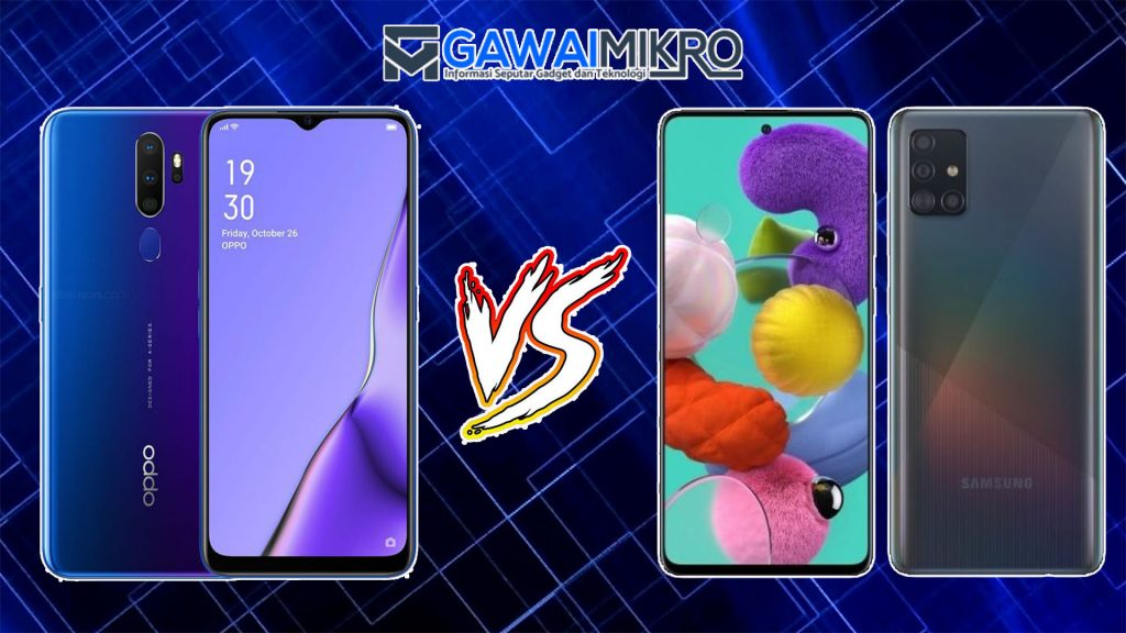 Oppo A9 2020 vs Samsung Galaxy A51
