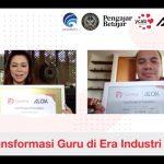 Bu Veronica (CEO, Founder YCAB Foundation) dan Pak Pandu (Presiden Komisaris SEA Group)