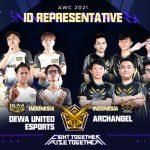 AWC 2021 Tim Indonesia